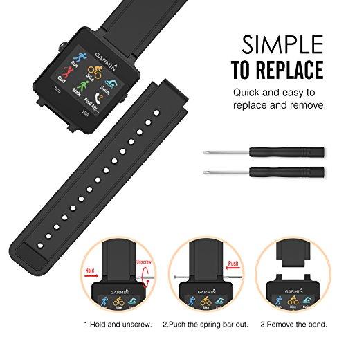 Zoom IMG-3 moko garmin vivoactive watch cinturino