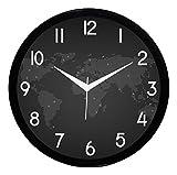 IT2M 11 Round Designer Wall Clock with G...