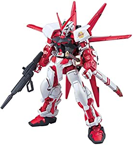 Bandai Hobby #58 HG Gundam Astray Red Frame Model Kit (Flight Unit), 1/144 Scale