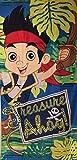 Disney Jake und die Nimmerland Piraten BADETUCH 70x140 cm Strandtuch (9498)