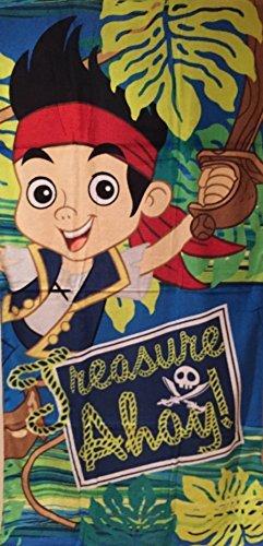 Nimmerland Piraten BADETUCH 70x140 cm Strandtuch (9498) (Jake Piraten-strandtuch)