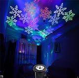 SUGER-LIGHT LED Licht Beamer Landschaft Weihnachten Schneeflocken Wasserdicht Schnee Bunt Scheinwerfer Lampe Umzug Licht Zum Party Zuhause Festival Karneval Dekoration