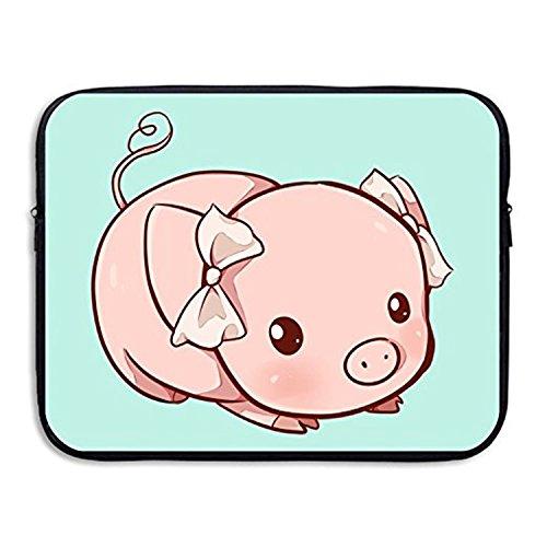 ZMviseLovely Pig die schlanke, gepolsterte laptop weicher neopren - ärmel tasche fall decken für notebook - computer ipad - tablet (Kitchenaid-zubehör Fall)
