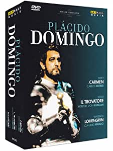 Plácido Domingo Live aus der Wiener Staatsoper [4 DVDs]