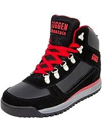 GUGGEN MOUNTAIN Pataugas Chaussures de randonnee Chaussures montantes Hiking Boots M010 Bottes et boots Homme
