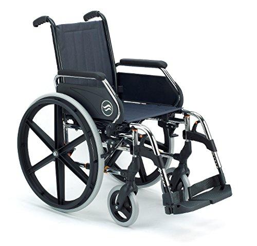 Silla de ruedas manual en acero plegable Breezy 250