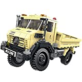 Modbrix Bausteine Unimog LKW, Konstruktionsspielzeug, 490 Teile