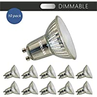 Luceco LED GU10 5W 370lm Dimmable Spotlight Bulb Pack of 10