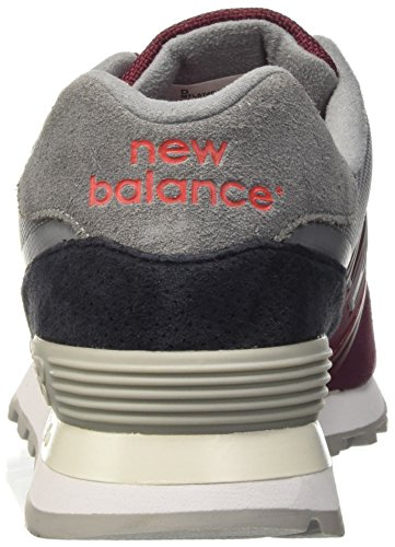 New Balance Herren 574 Sneakers Rot (Red)