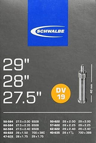 Schwalbe Fahrradschlauch DV17 28/47-622/635 EK 40 mm, 10429311V