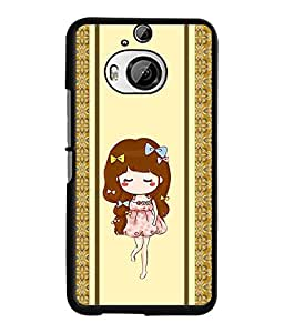 Fuson 2D Printed Girly Designer back case cover for HTC One M9 Plus - D4451