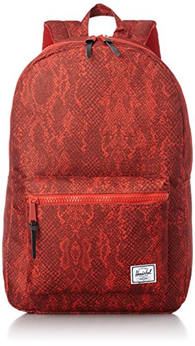 Herschel - Mochila casual , Red Snake/Red Rubber (multicolor) - 10005-00761-OS