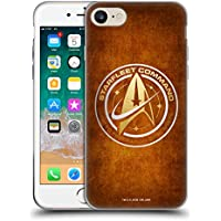 Head Case Designs Official Star Trek Discovery Starfleet Distressed Badges Soft Gel Case for Apple iPhone 7/iPhone 8