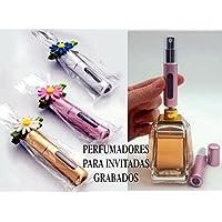 Perfumadores invitadas PERSONALIZADOS regalos detalles para boda, bautizo, comunión, bodas de oro,