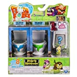 Flush Force - 6037317 - Figurines - Pack de 8 Flushies - Saison 1