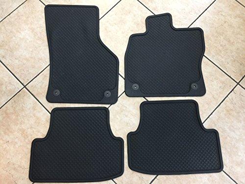 Preisvergleich Produktbild SEAT Leon 5F Original Gummifussmatten Satz 4 Stück Fussmatten Gummimatten