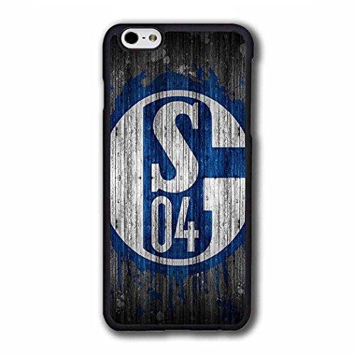 SchüTzende für iPhone 6S Schalke 04 Football Team Logo - Tumblr Sprüche iPhone 6 SchutzHülle Schalke 04 FußBall Club Retro Look iPhone 6 6S [4.7 Inch] Hülle Case Mädchen Matt (Iphone 4 Fälle, Die Sport-teams)