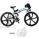 E-Bike Mountainbike E-Mtb Fully 26 Zoll Elektrofahrräder Fahrrad Klappbar Elektro