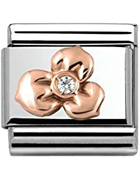 Nomination Unisex Charm 925Silver with White 430305/02 9m9Rz3H