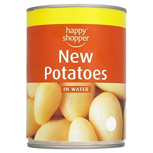 Glücklicher Käufer Neue Kartoffeln in Wasser 560g (Packung mit 12 x 560g)
