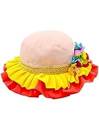 nikgic satén sombrero Niños Playa Sombrero Verano sombrero Protector Solar  Princesa antirreflejos Protección UV UV Sombreros 08bc6a423f1