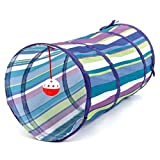 PAWZ Road Cat Tunnel Kitten Tube Cat Toys Muti-Choise With A Lot Of Fun ( Color : Blue )