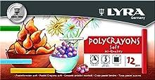 Lyra Polycrayons - Estuche tizas artísticas de alta adhesión a la superficie