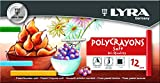 Lyra L5651120 - Astuccio 12 Gessetti Policromi Polycrayons Soft