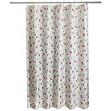 Yulian Duschvorhänge Duschvorhang wasserdicht Schimmel dick Duschvorhang Badezimmer Polyester Duschvorhang Gewebe Partition Vorhang (B x H cm) Hochwertige Duschvorhänge (größe : 220*200cm)