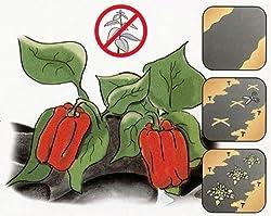 greemotion Anti-Unkrautvlies schwarz, atmungsaktives Gartenvlies, Unkrautschutzvlies Pflanzen schonend, Unterbodenvlies wasserspeichernd
