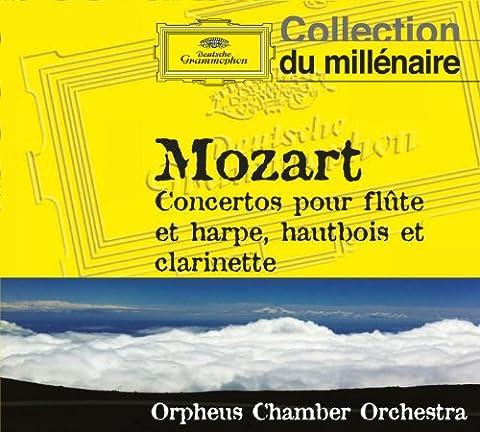 Mozart : Concertos pour flute et harpe, hautbois et