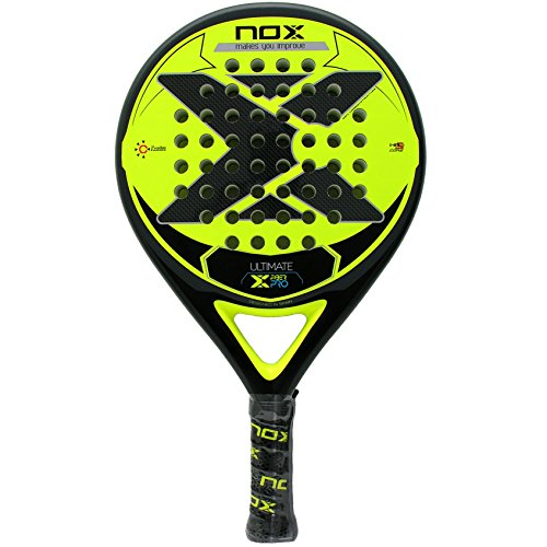 NOX Schläger Ultimate Fiber Pro Yellow