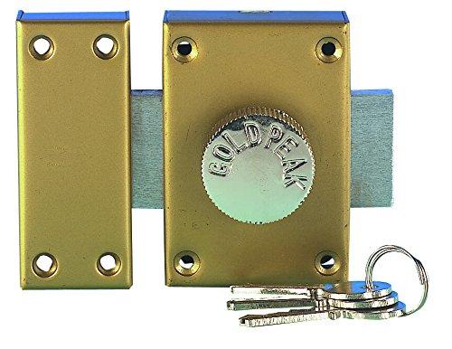 Tec Hit 561231-Cerrojo de seguridad de botón, 3llaves, diámetr