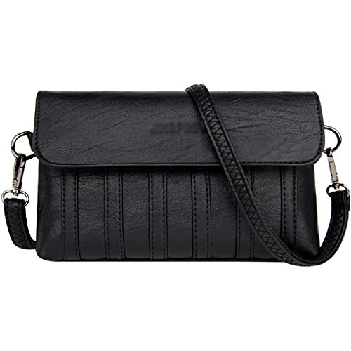 LA HAUTE, Borsa a tracolla donna Light Grey Black