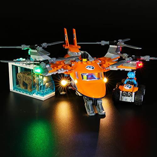 BRIKSMAX Led Beleuchtungsset für Lego City Arktis-Frachtflugzeug ,Kompatibel Mit Lego 60193 Bausteinen Modell - Ohne Lego Set