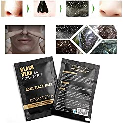 Hanyia Nose Black Mask Acne Blackhead Removal Mask Deep Cleaning Mineral Mud Mask 10 Pcs