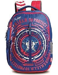 Skybags SBMarvelCap-AM 02 32 Ltrs Blue Casual Backpack  (SBMRCM2EBLU)