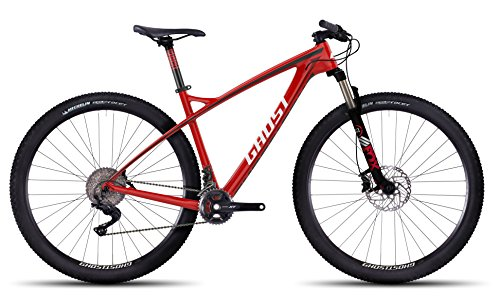 GHOST HTX EBS 2 LC red/black/darkred/white Carbon Hardtail Größe XL
