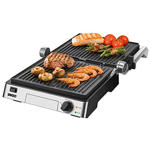 Unold Contact-Grill Steak, silber