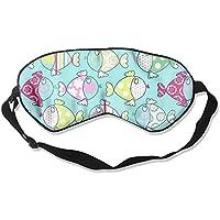 Colorful Cute Fish Lover Sleep Eyes Masks - Comfortable Sleeping Mask Eye Cover For Travelling Night Noon Nap... preisvergleich bei billige-tabletten.eu