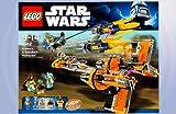 LEGO Star Wars 7962 Anakin Skywalker & Sebulbas Podracers