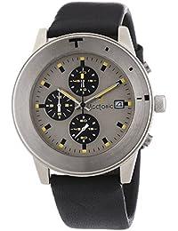 Tectonic 41-6901-84 - Reloj de cuarzo para hombres, color negro