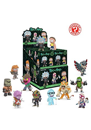 Funko Blind Bag Plush Rick and Morty (One Mystery Figure), Multicolor