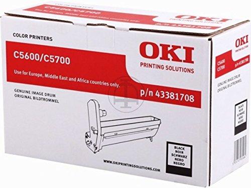 Preisvergleich Produktbild OKI C 5600 DN (43381708) - original - Bildtrommel schwarz - 20.000 Seiten