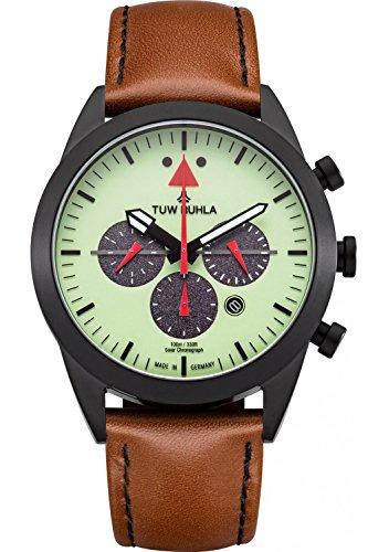 TUW Ruhla Solar-Herrenarmbanduhr Chronograph Aviator 51243-162614