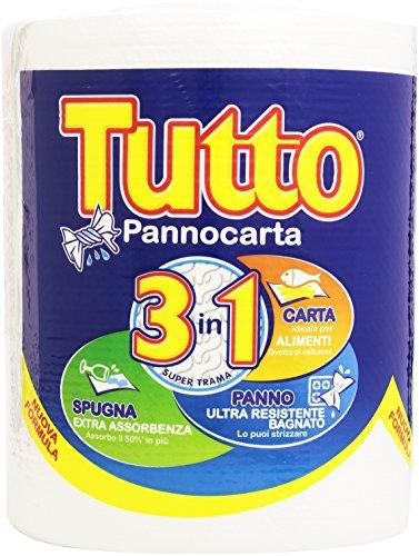 Tutto - Pannocarta, 3 in 1 -   1 bobina
