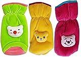 My NewBorn Baby Feeding Bottle Covers Attractive Cartoon- Combo Sets (GreenYellowRani)