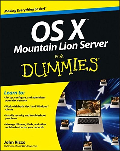 OS X Mountain Lion Server for Dummies