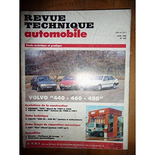 RTA0540 - REVUE TECHNIQUE AUTOMOBILE VOLVO 440 - 460 - 480