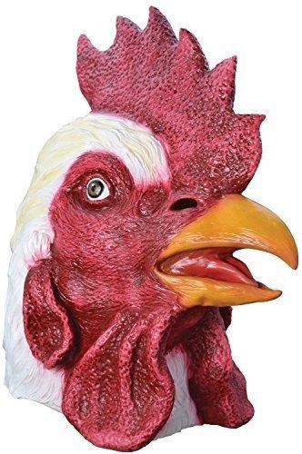 Fancy Me Erwachsene Damen Herren Rubber Das Gesicht Bedeckend Maske Animal Halloween Kostüm Kleid Outfit Zubehör - ()